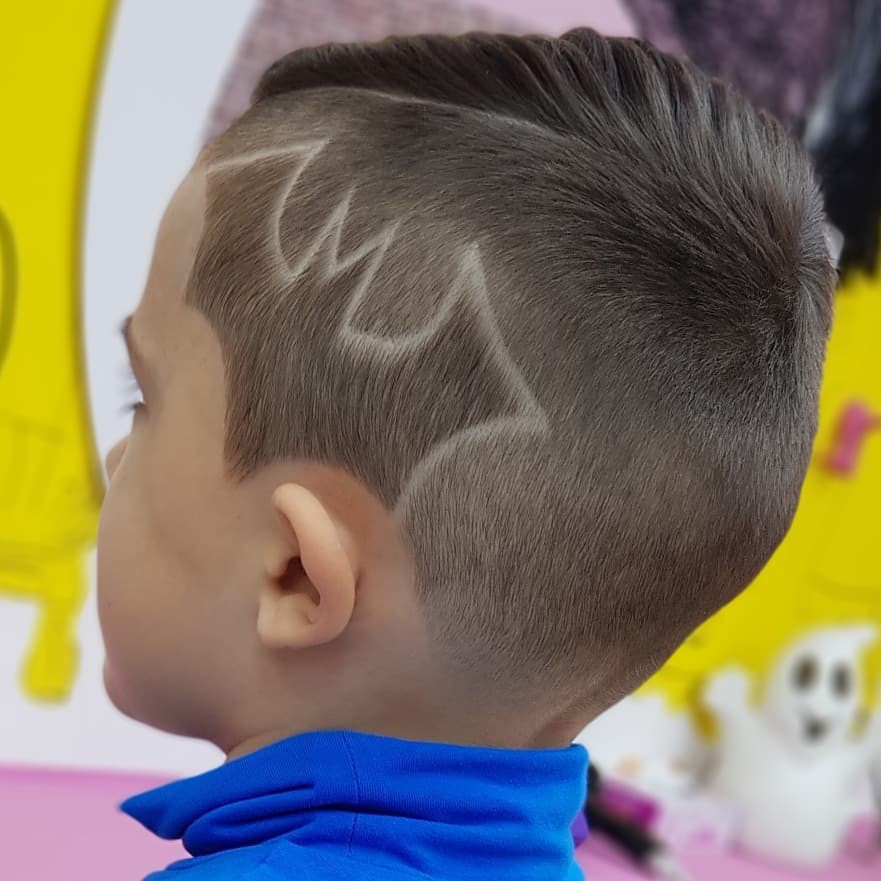 Batman Hairstyle for Cute Kids