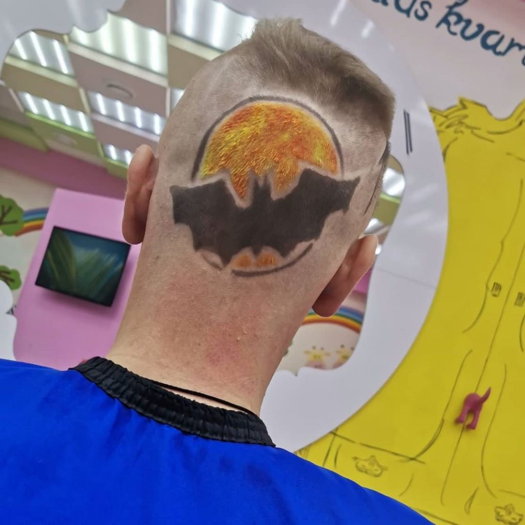 Batman Hairstyle for Guys