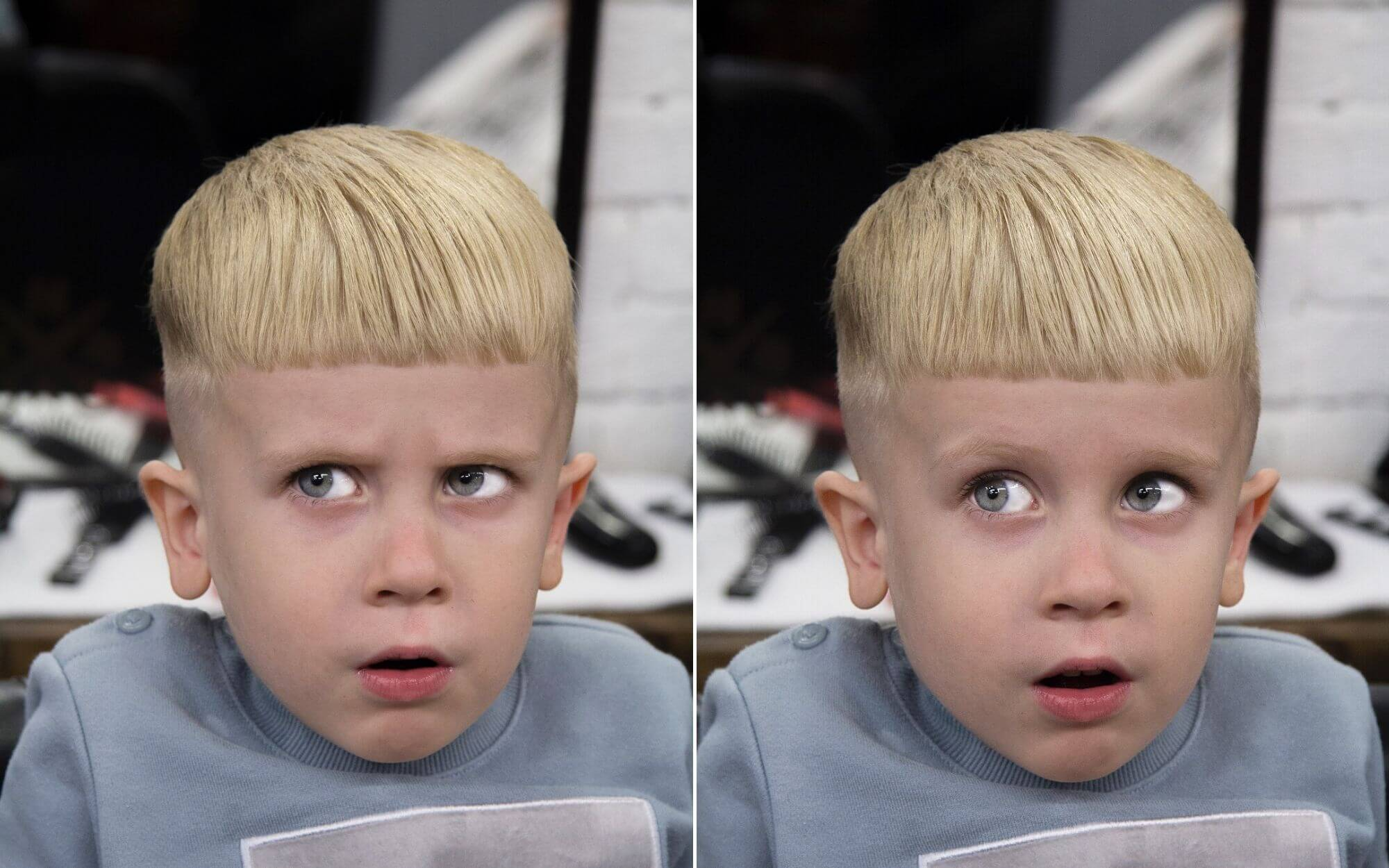 Classic Undercut Haircut for Boys
