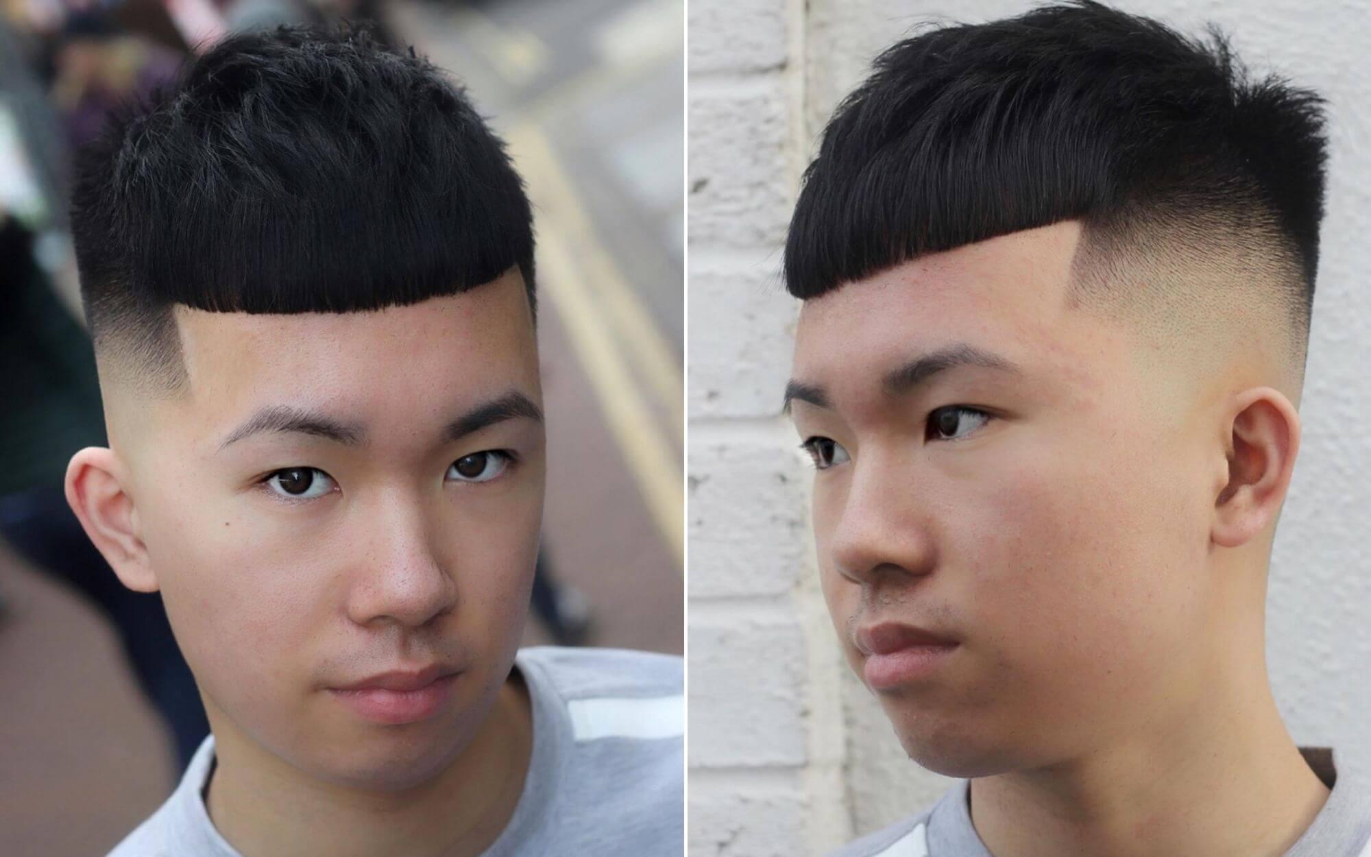 Crop Undercut Haircut