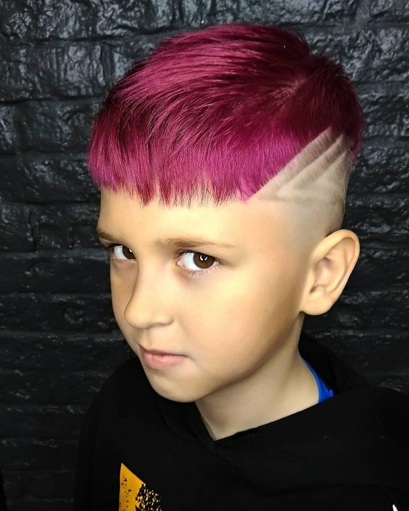 Dyed Layered Cut Design for Kids