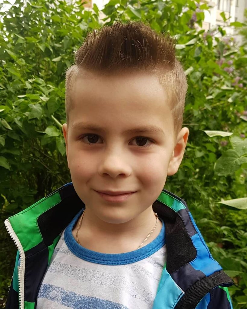Faux Hawk Hair Style for Kids
