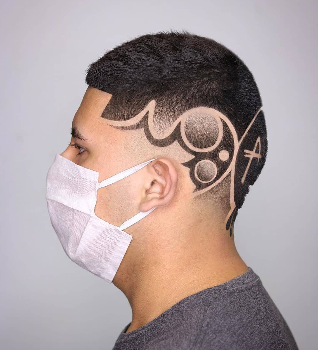 Hieroglyph Hairstyle for Men