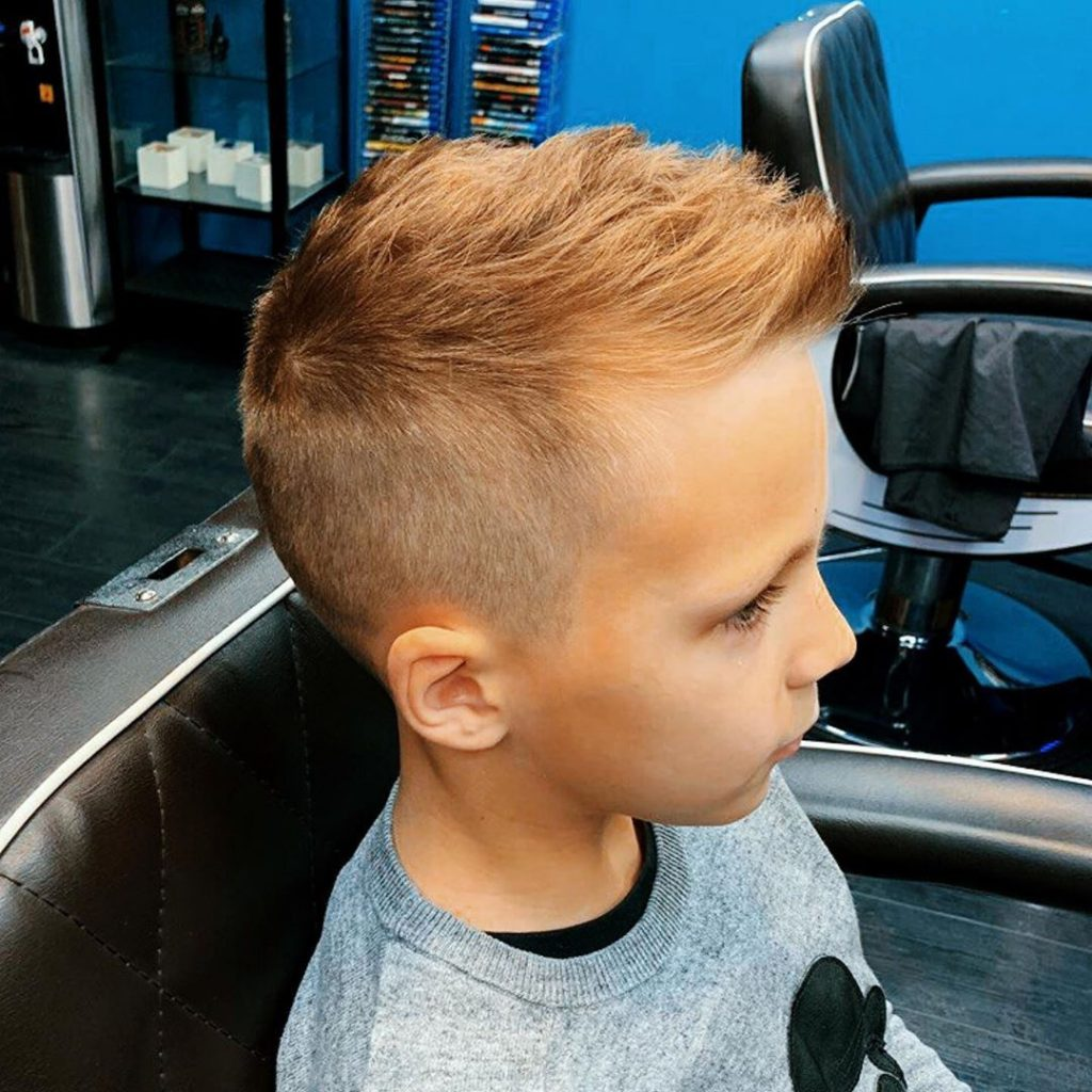 High Fade Undercut Hairstyle