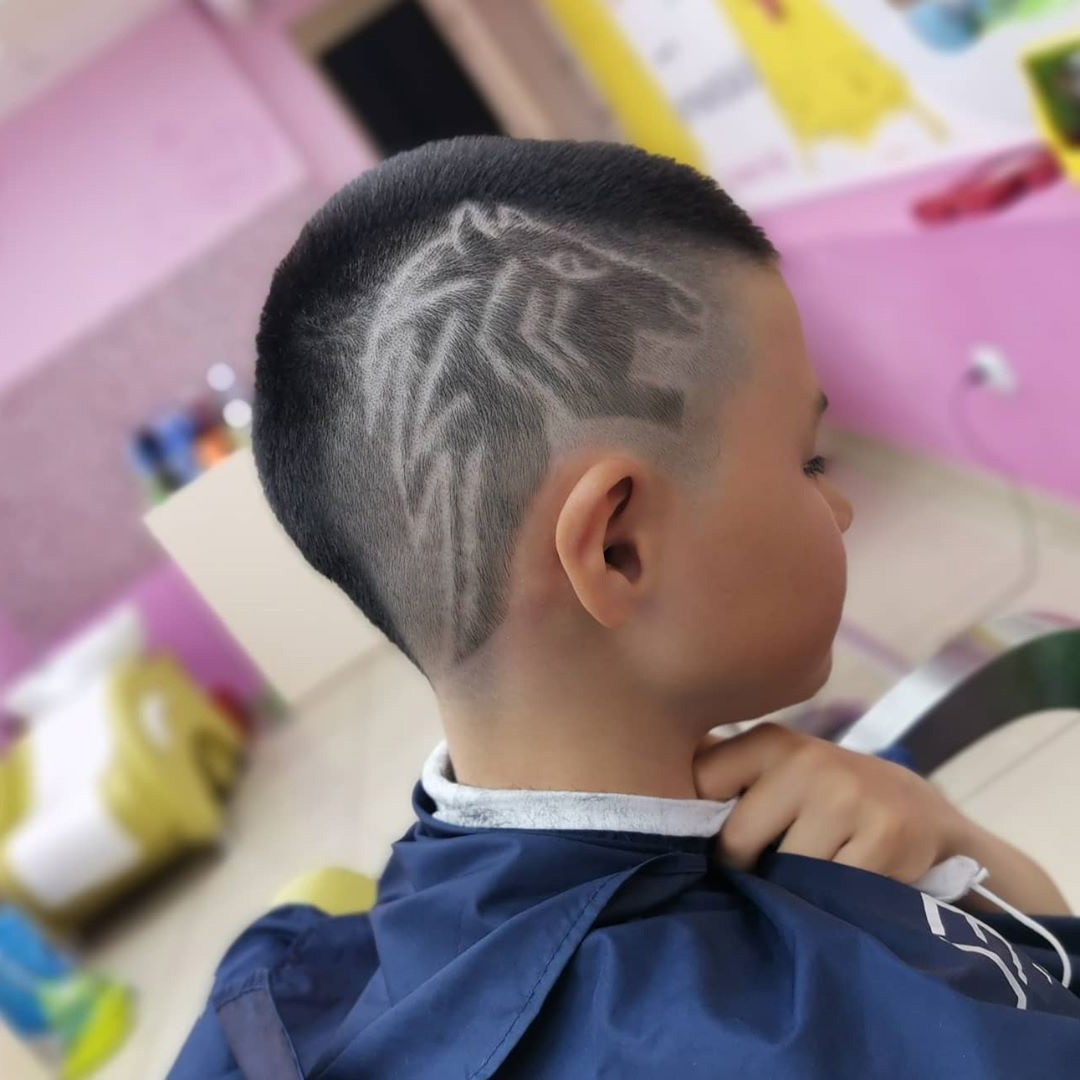 Horse Muzzle Haircut for Kids