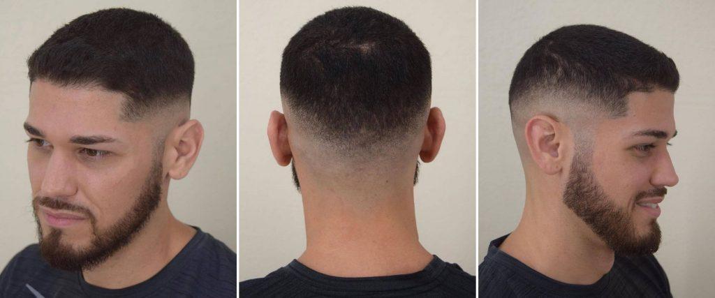 Low Skin Fade Undercut Haircut