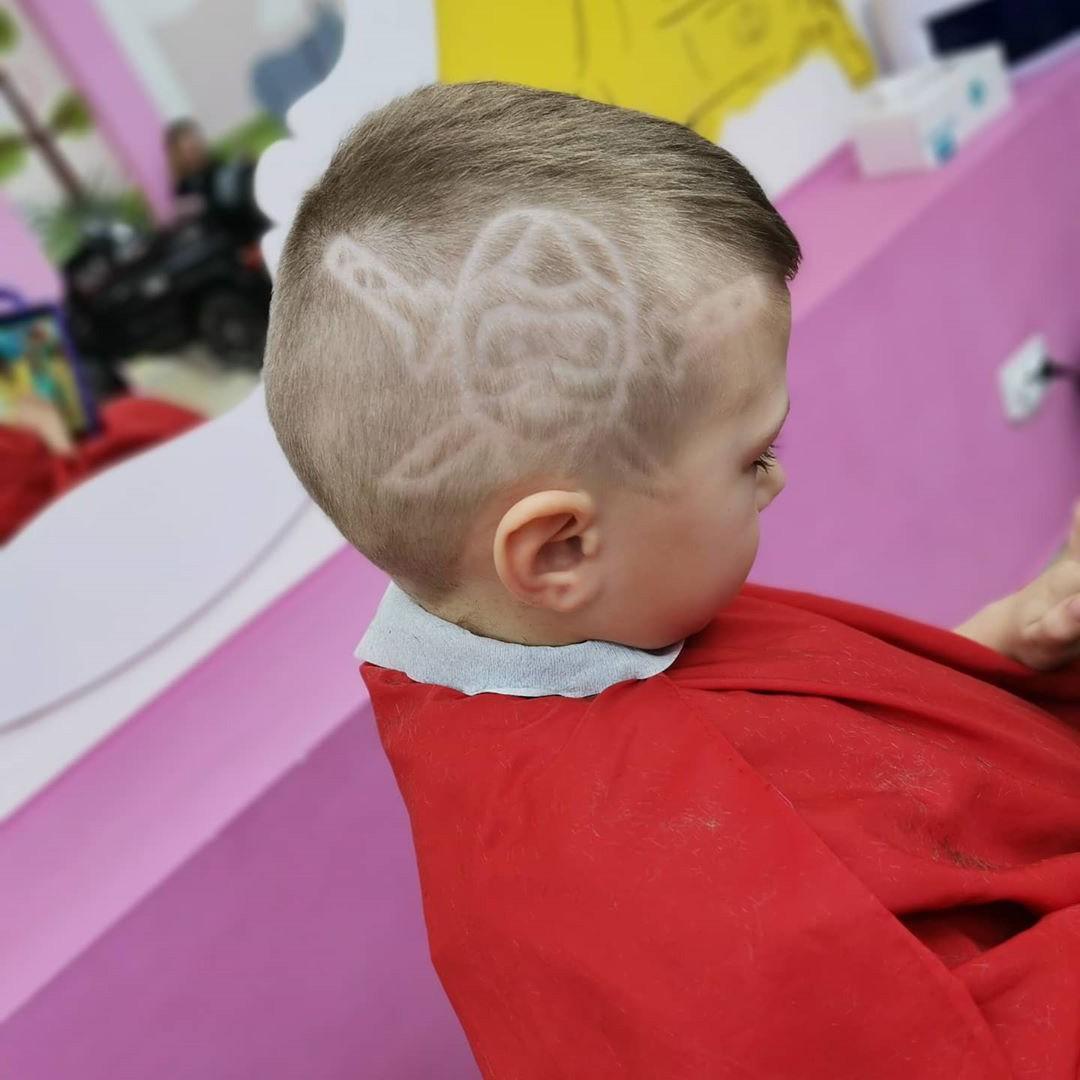 Ninja Haircut for Kids
