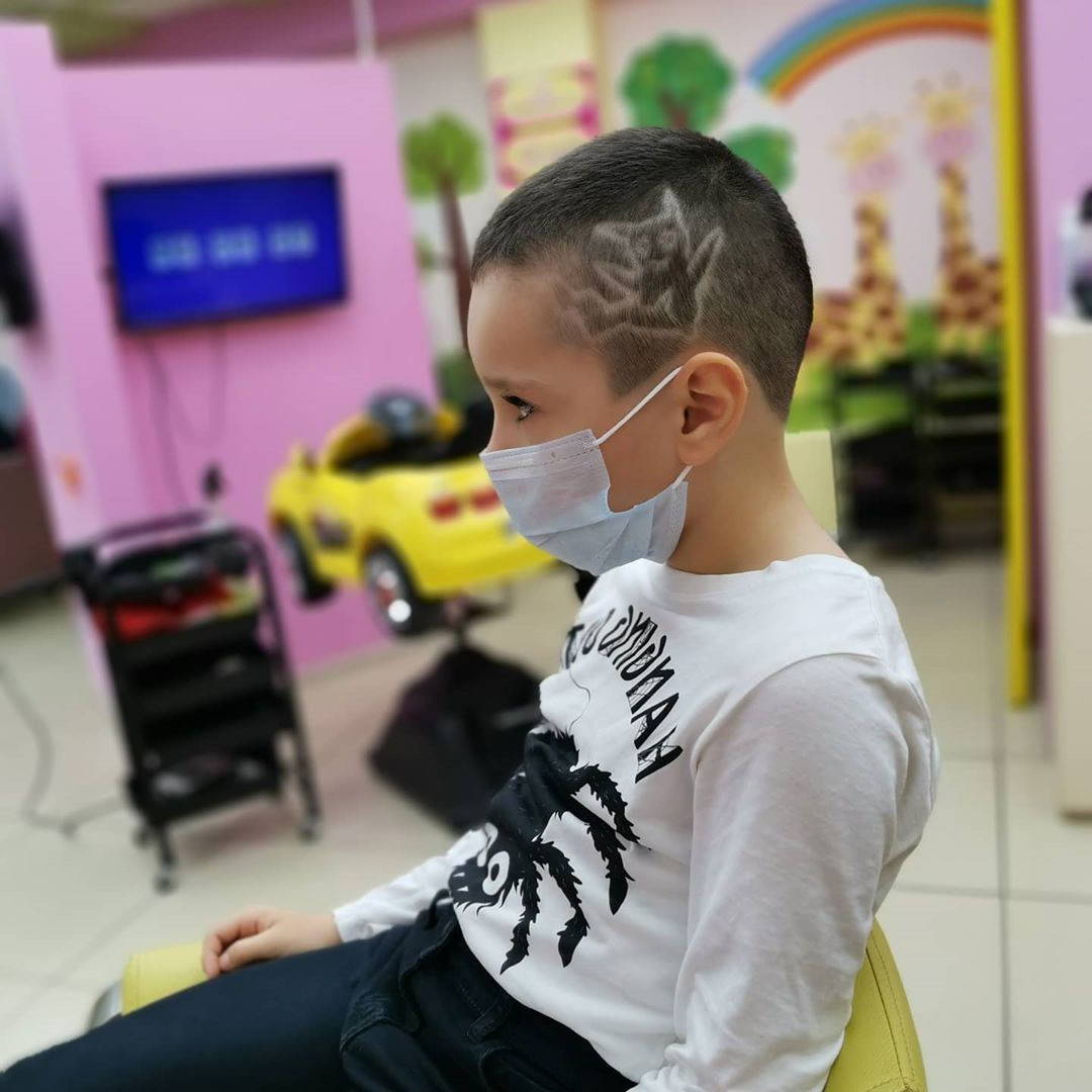 Pikachu Hairstyle Design for Little Kids