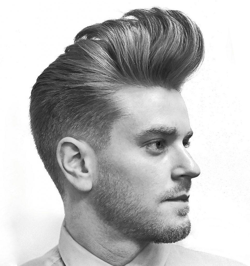 Pompadour Vintage Hairstyle