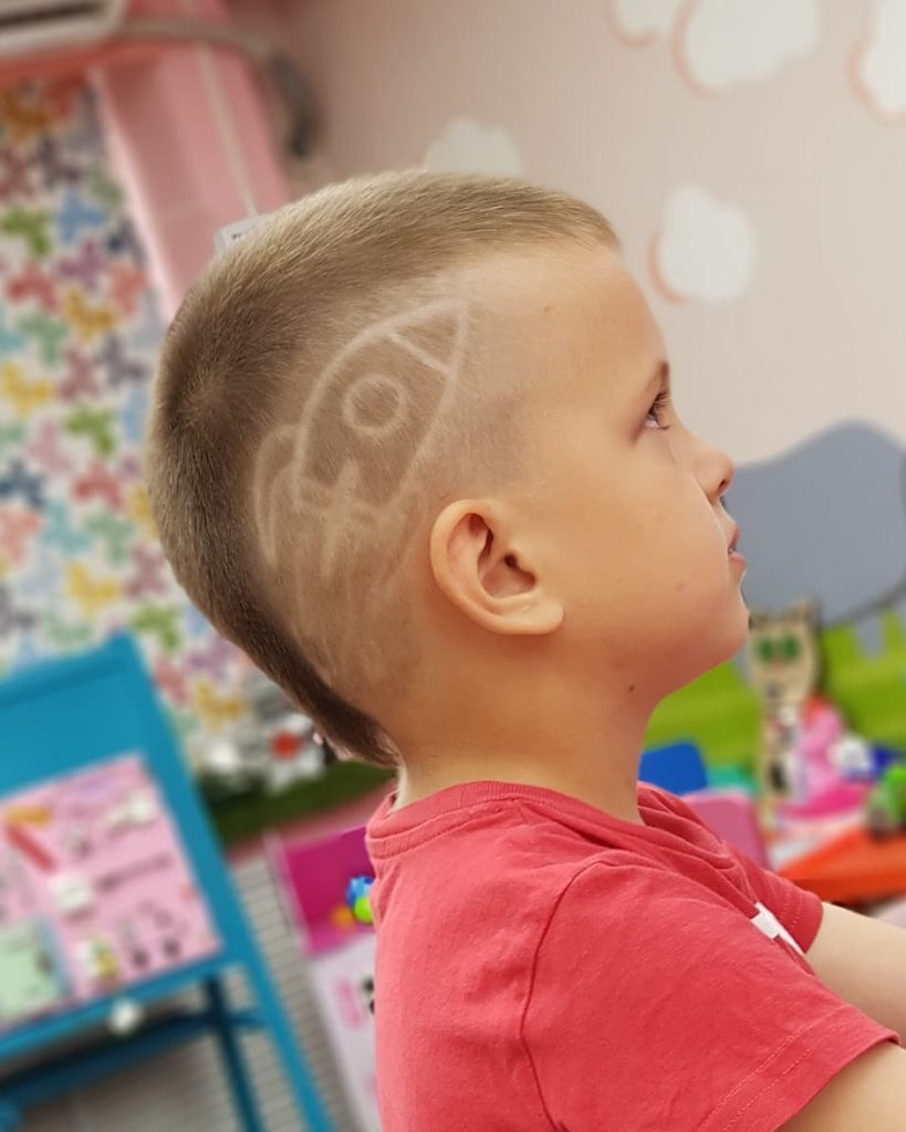 Rocket Undercut Design for Boys