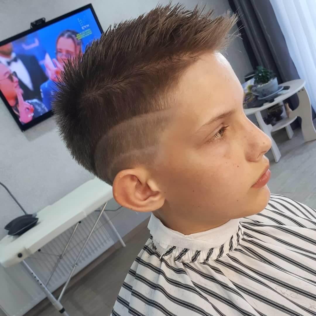 Spiky Teen Undercut Hairstyle