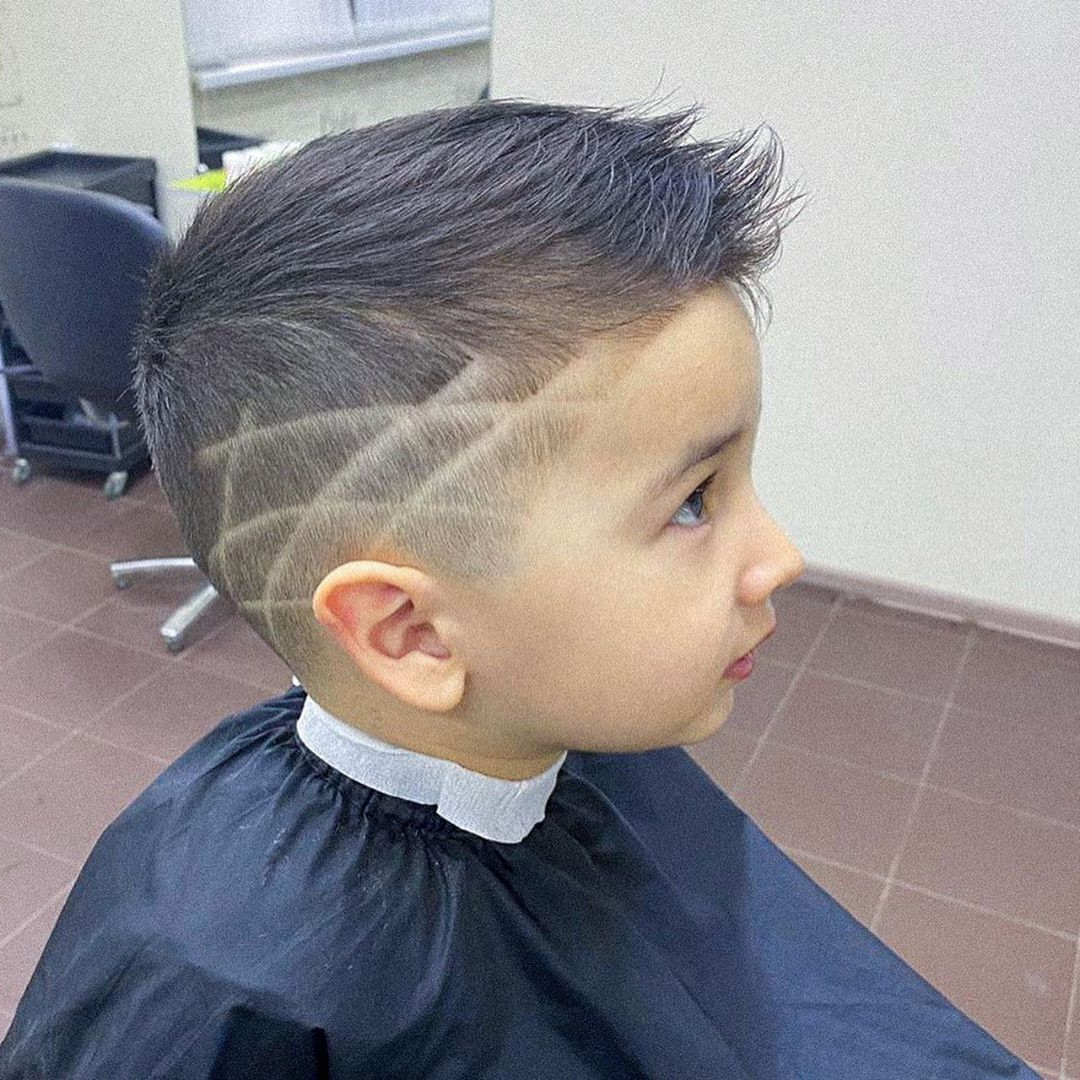 Toddler Boy Intersecting lines Design