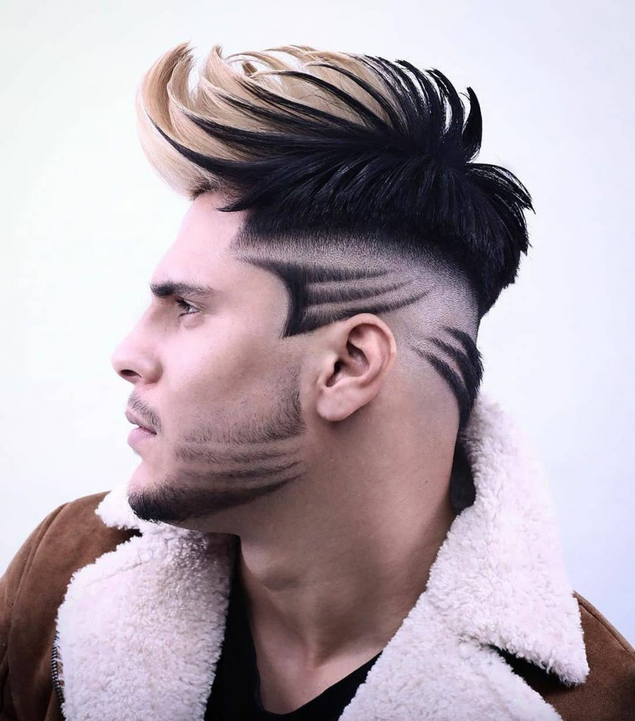 Wolverine Hairstyle for Men