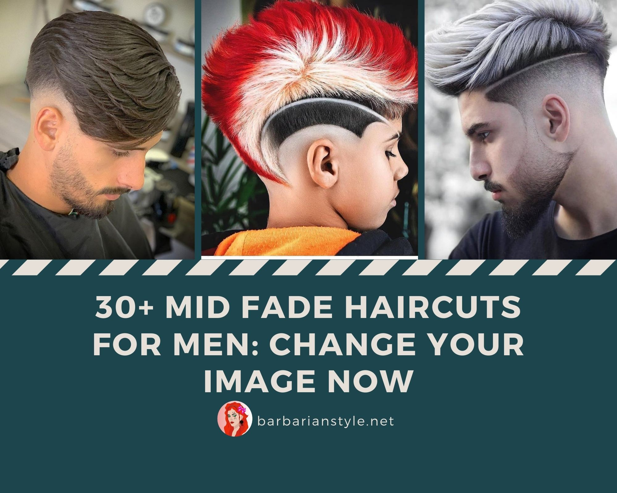 30 Mid Fade Haircuts For Men Change Your Image Now