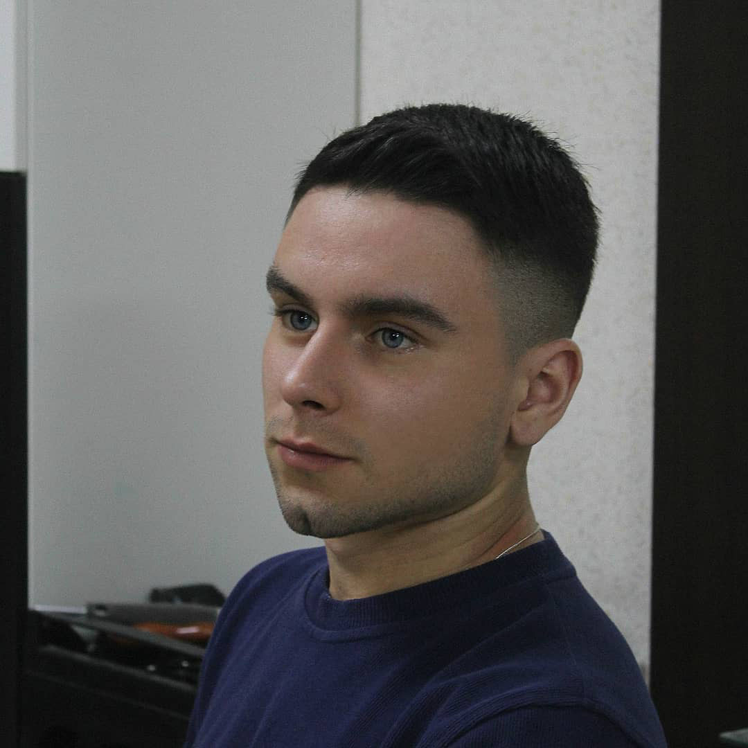 All Around Taper Fade Haircut for Guys