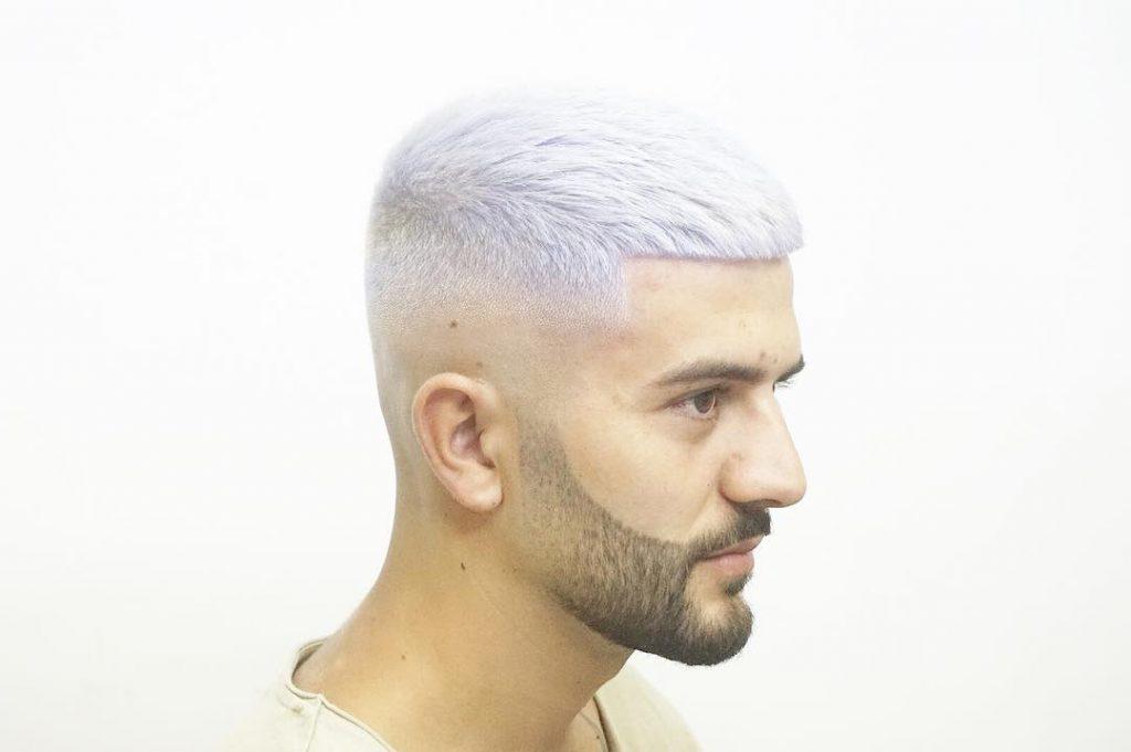 Bald Fade + Short Hair