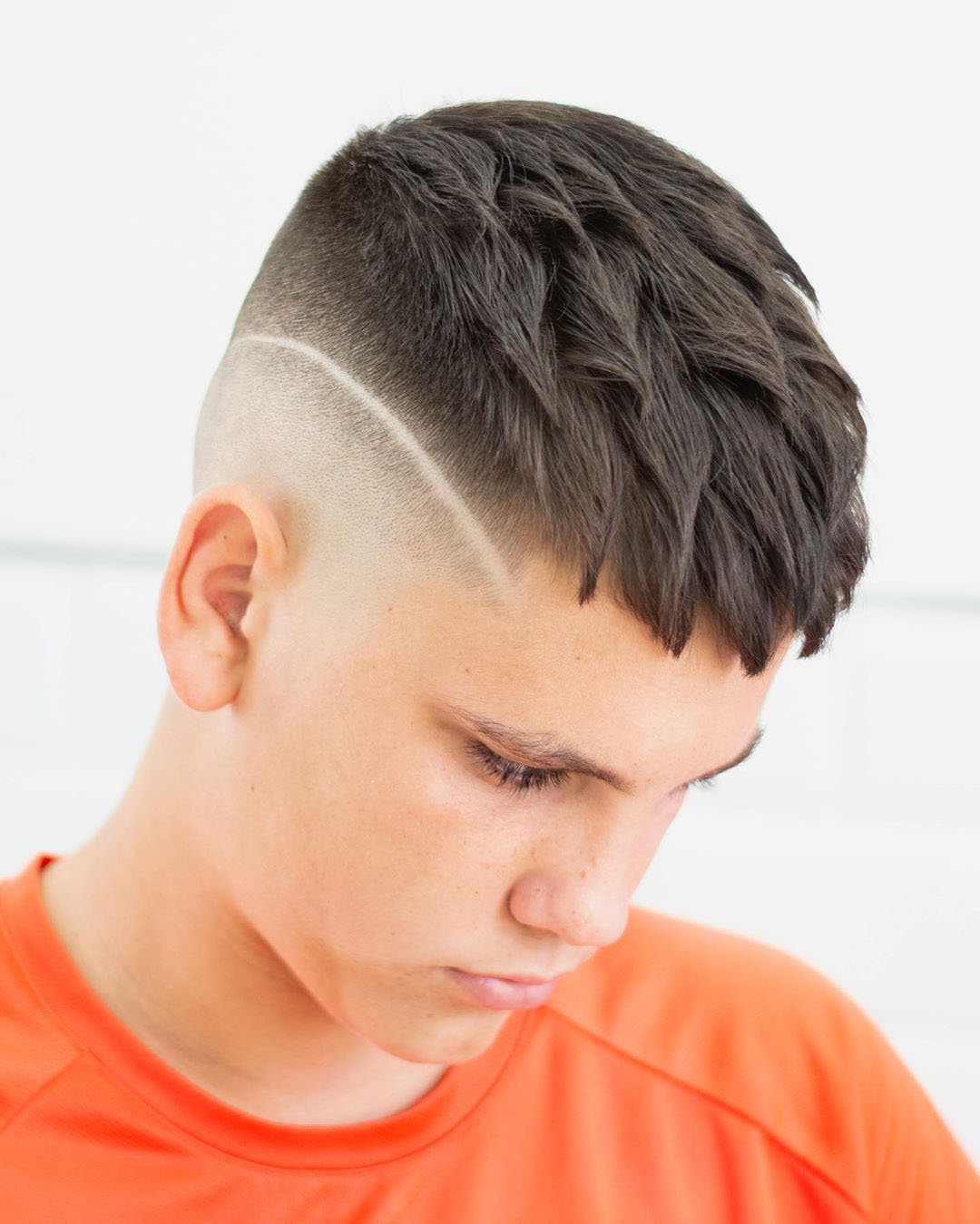 Disconnected Undercut with Taper Fade