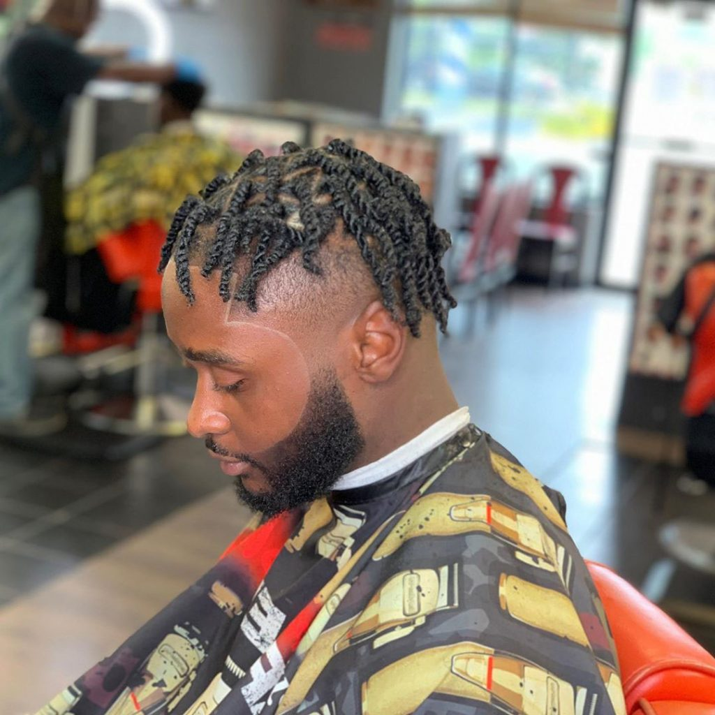 Dreads Undercut for African American Men