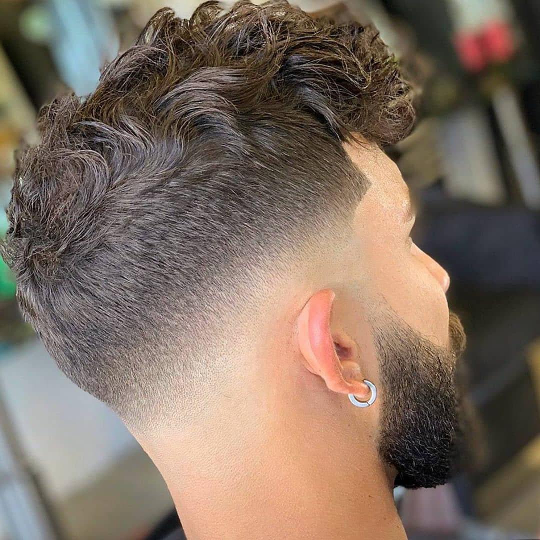 Drop Fade + Curly Hair
