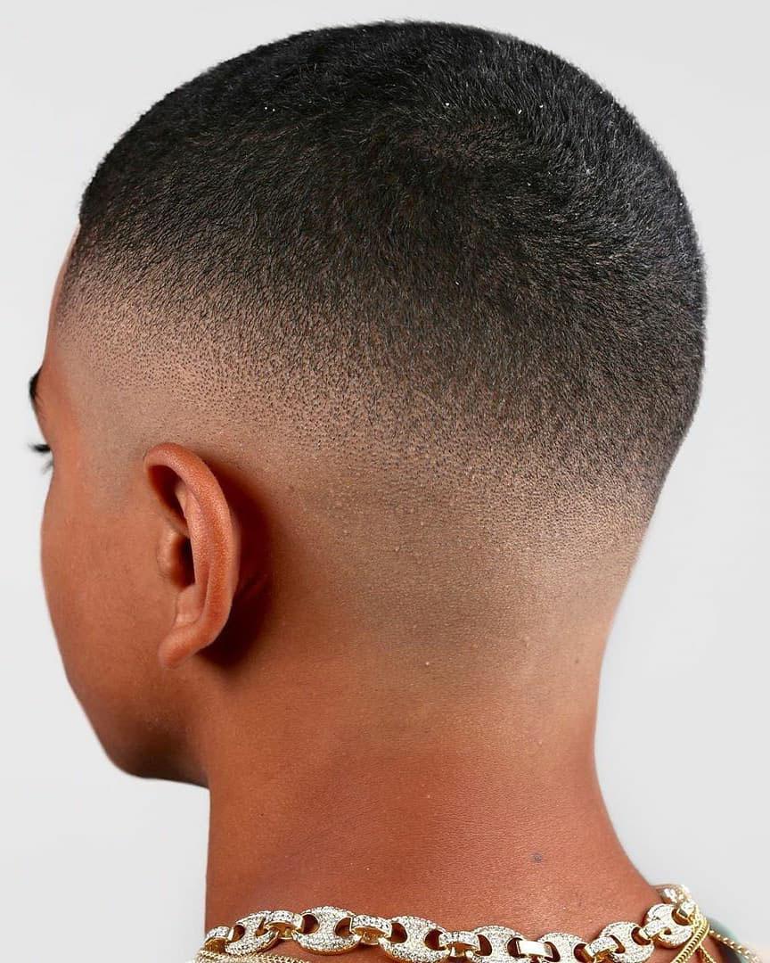 Drop Fade + Short Hair