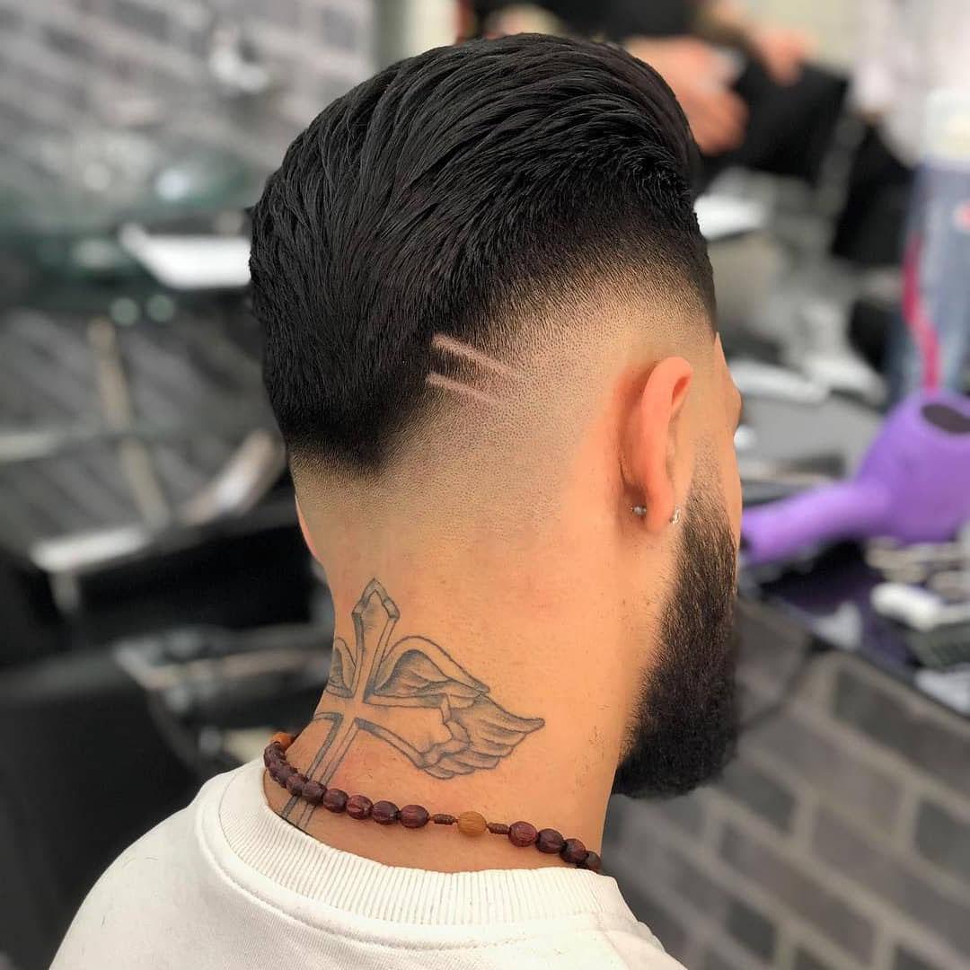 Drop Fade Taper Haircut