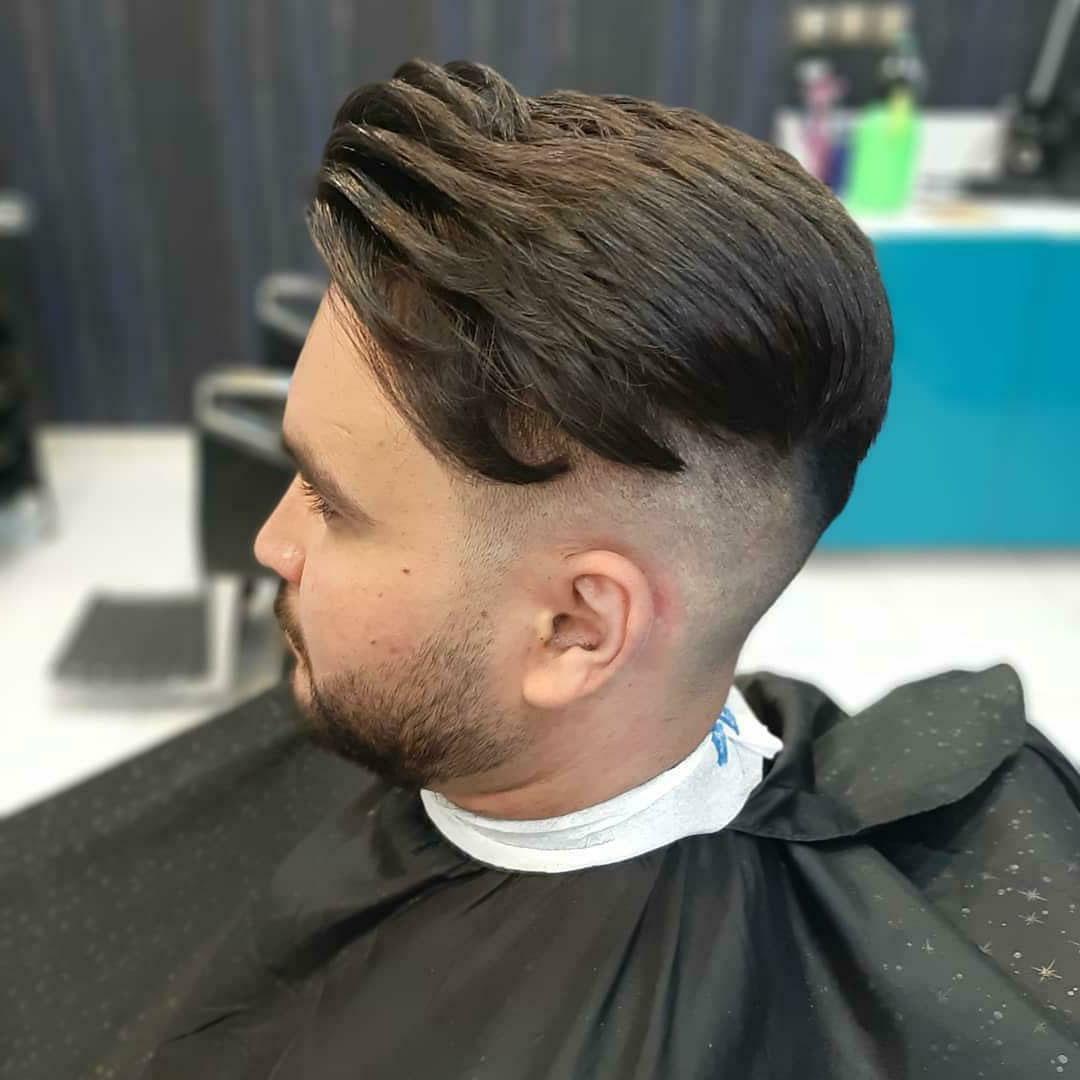 Drop Fade Undercut Haircut