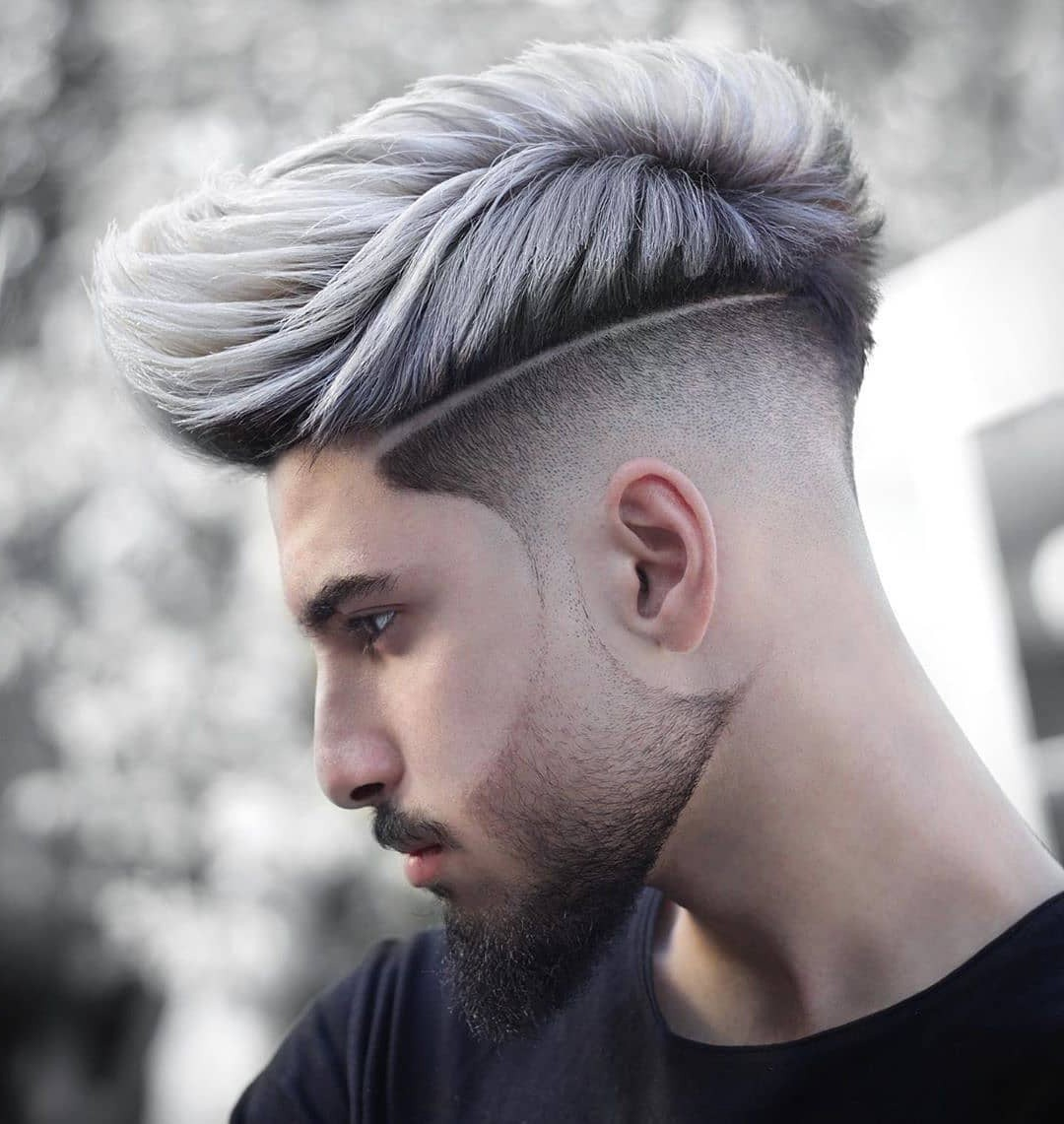 Faux Hawk Hairstyle for Highlighted Guys