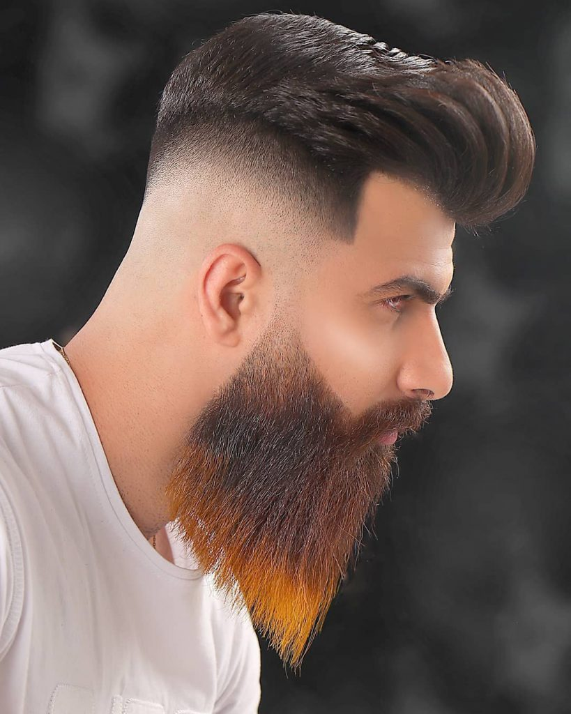 High and Tight Bald Fade Haircut
