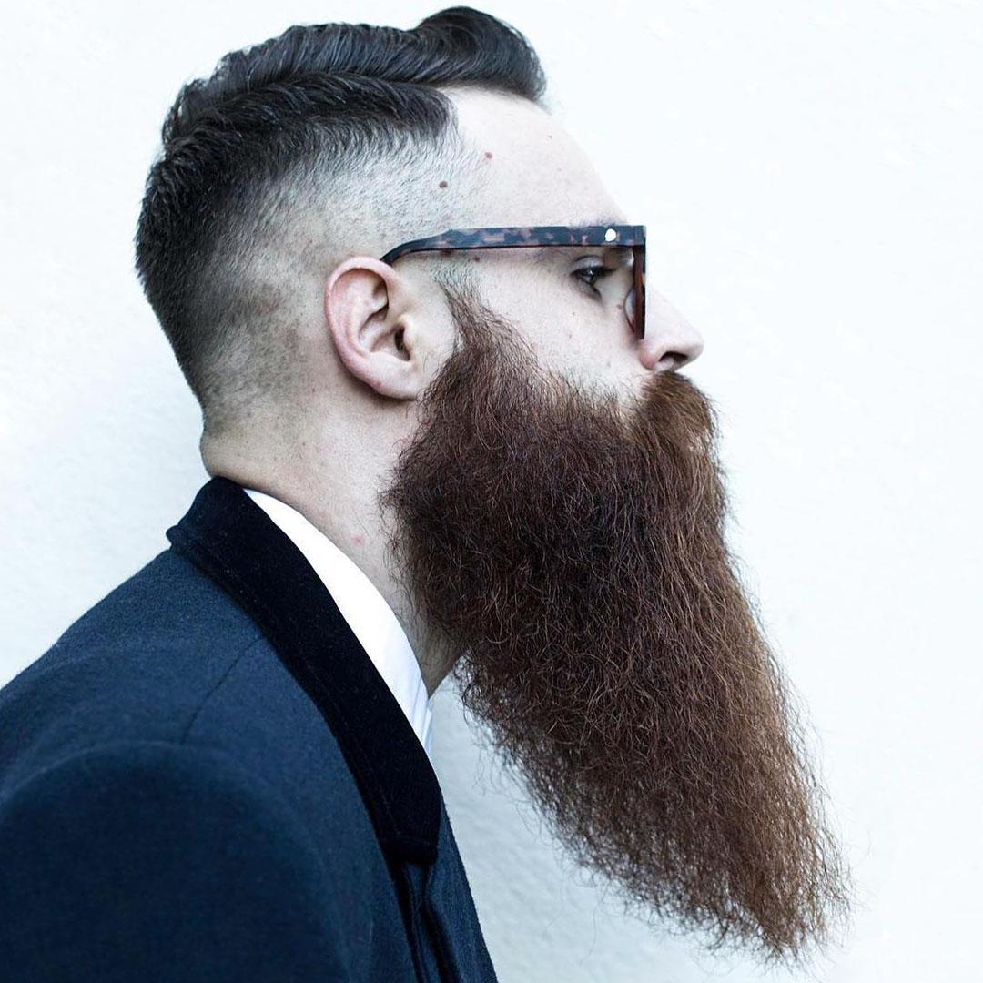 Long Beard Hairstyle for Men