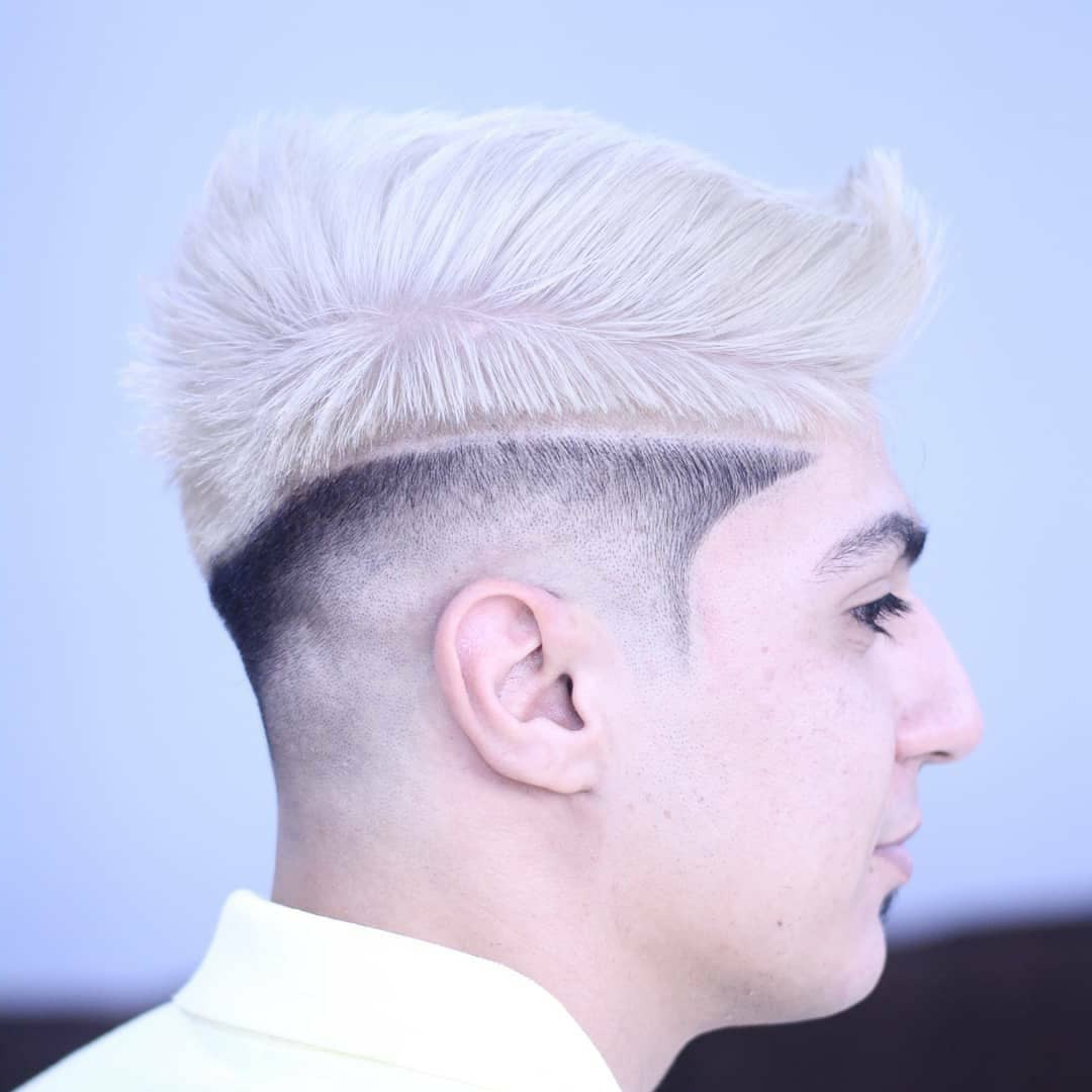 Low Bald Fade Haircut