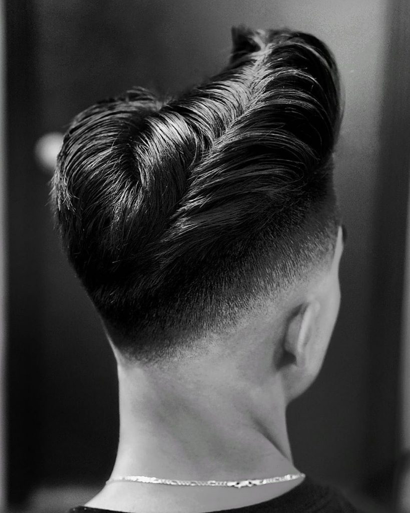 Low Drop Fade Haircut