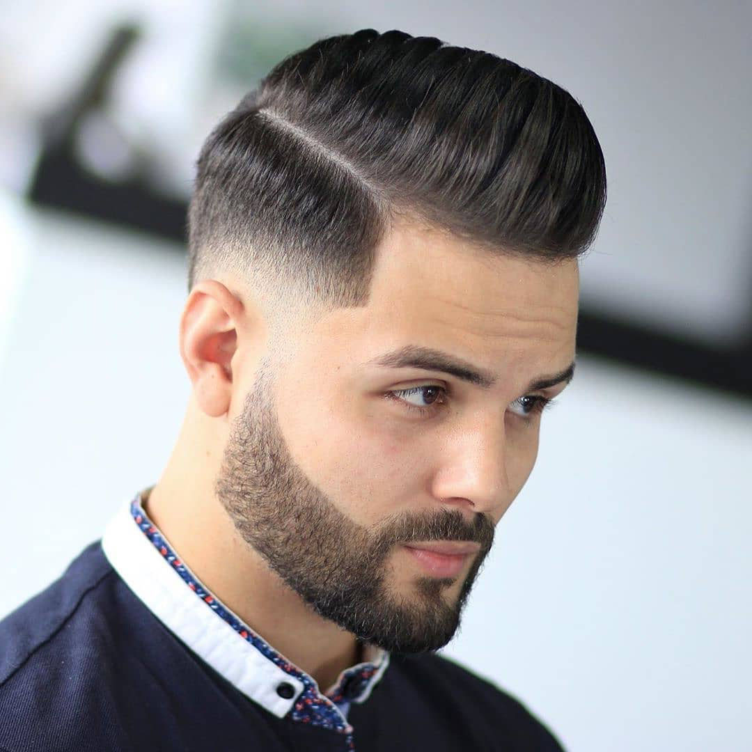 Low Fade + Comb Over