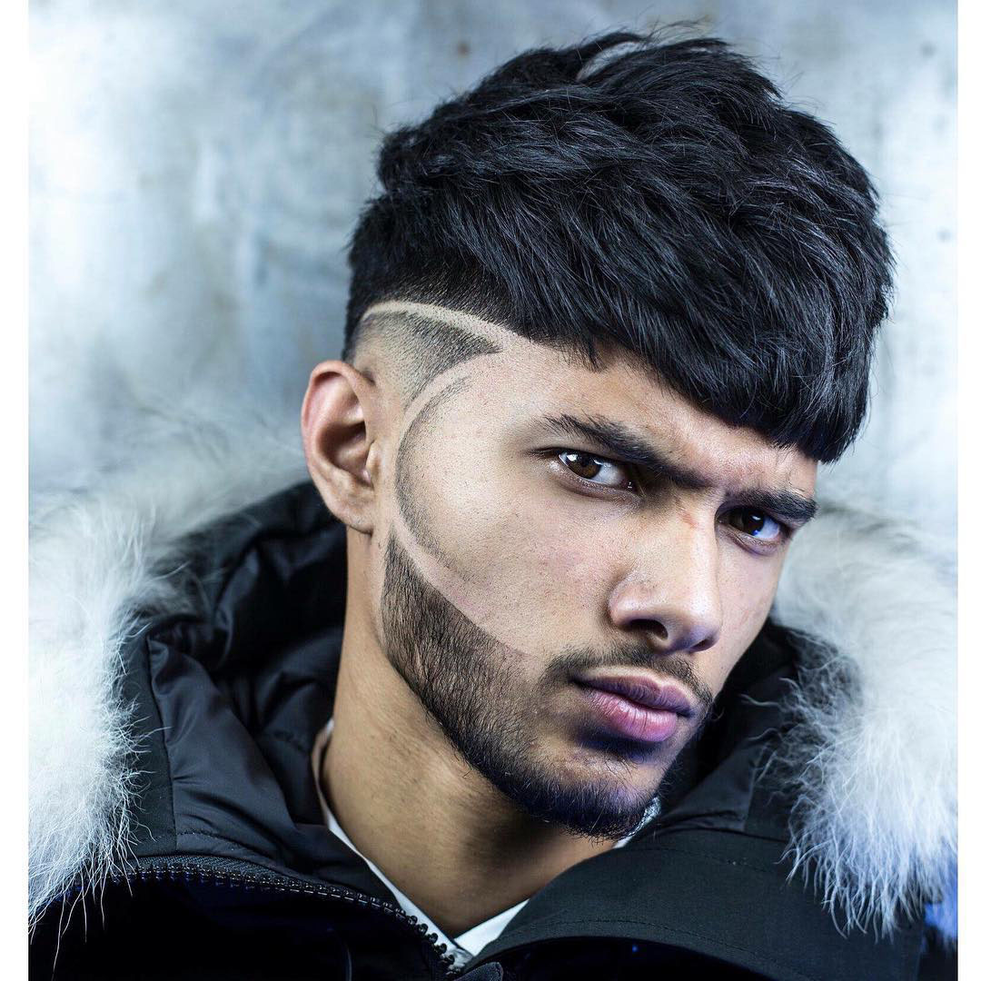 Low Fade Haircut for Mexican Men
