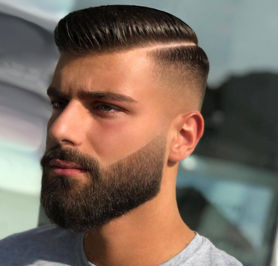 Low Fade with Beard
