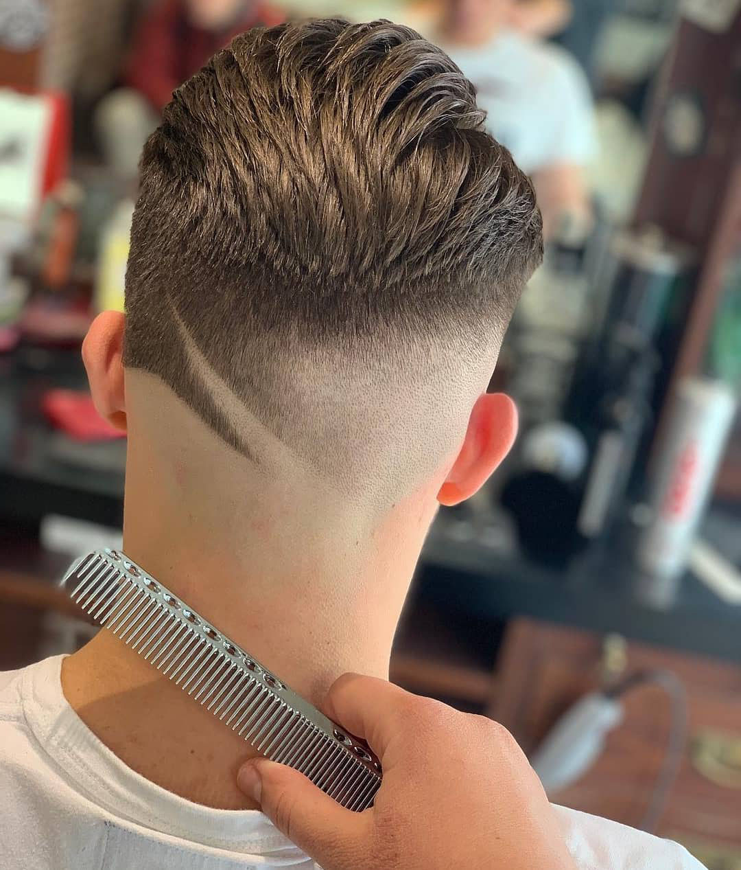 Low Fade with Design