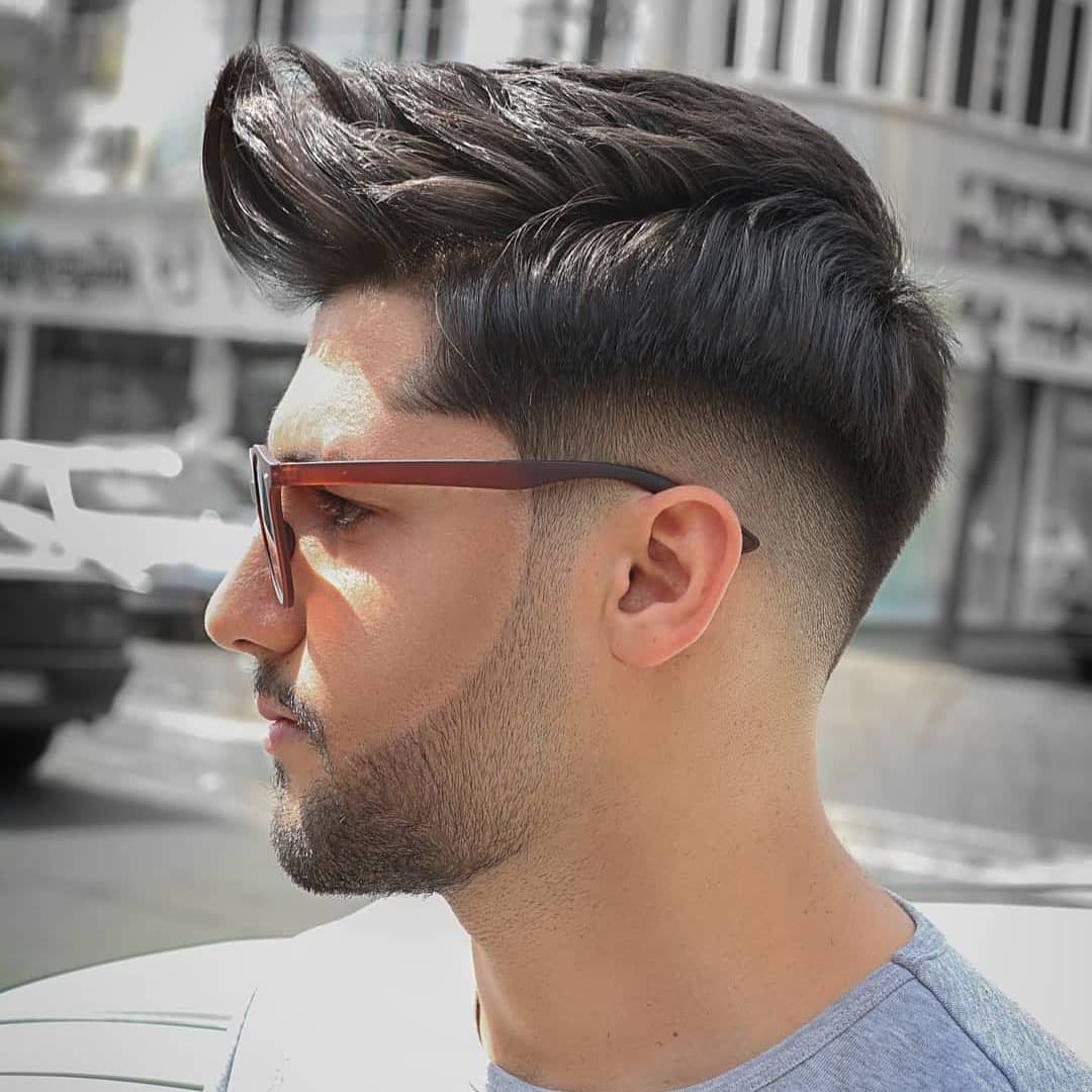 Low Taper Fade Haircut for Guys