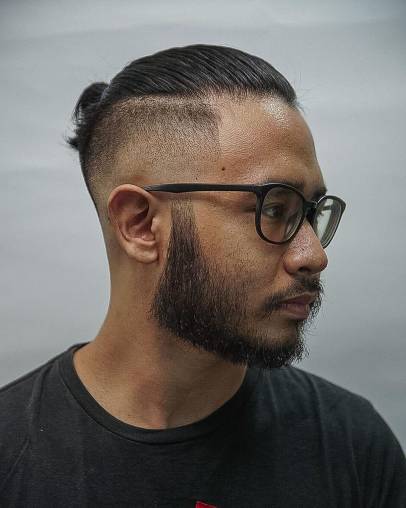 Man Bun + Funny Beard