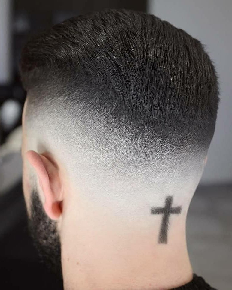 Medium Bald Fade Haircut