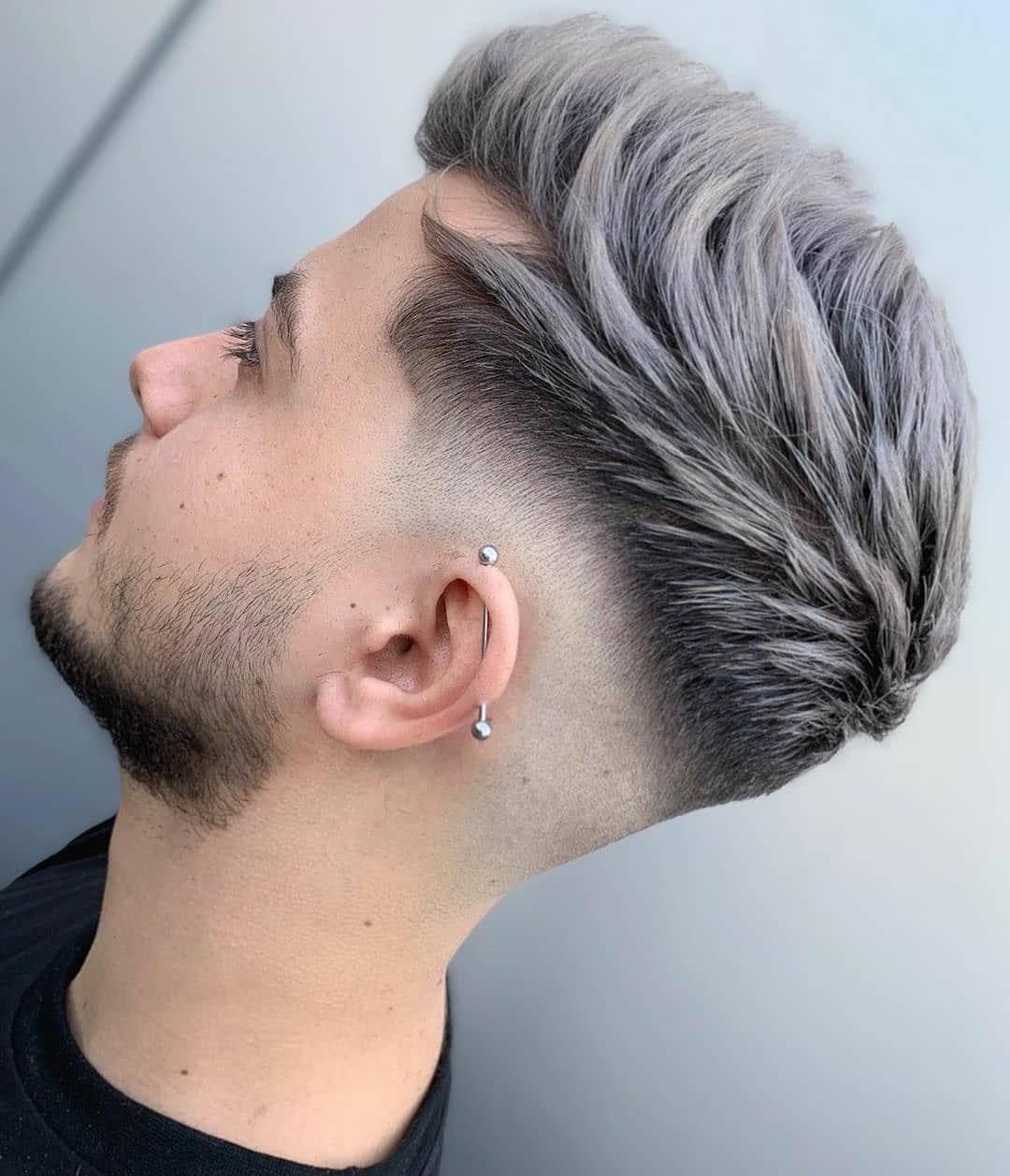 Medium Drop Fade Haircut