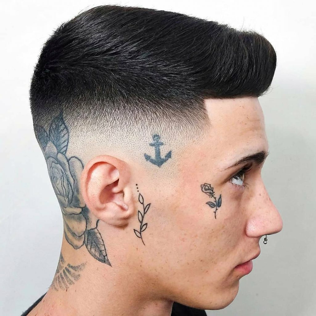 Medium Skin Fade Haircut