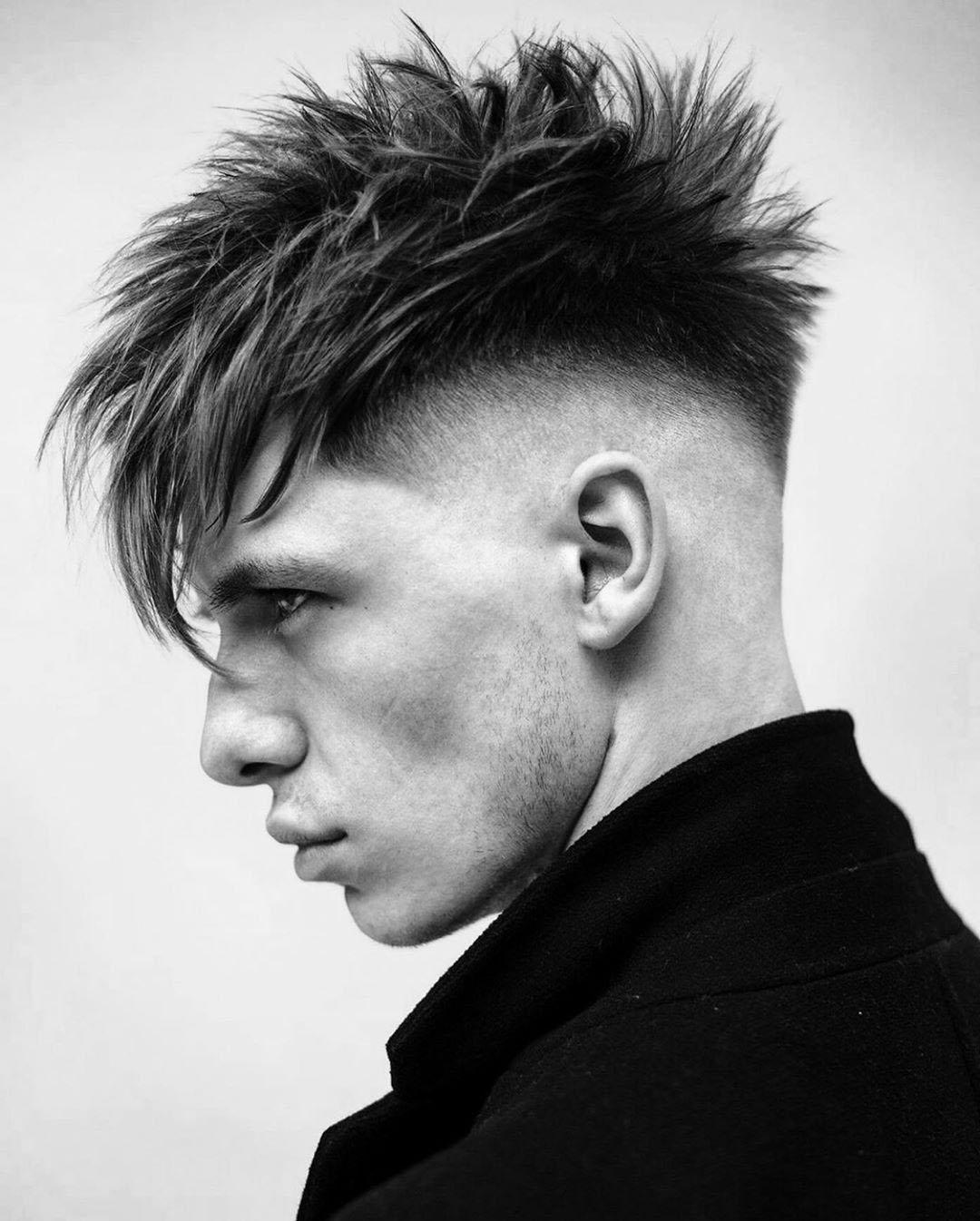 Medium Taper Fade Haircut for Guys