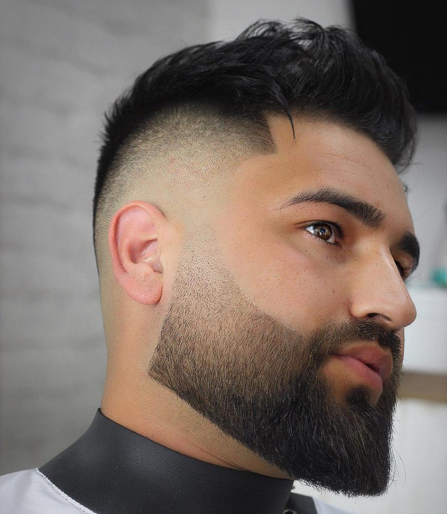 Mens Drop Fade Haircut