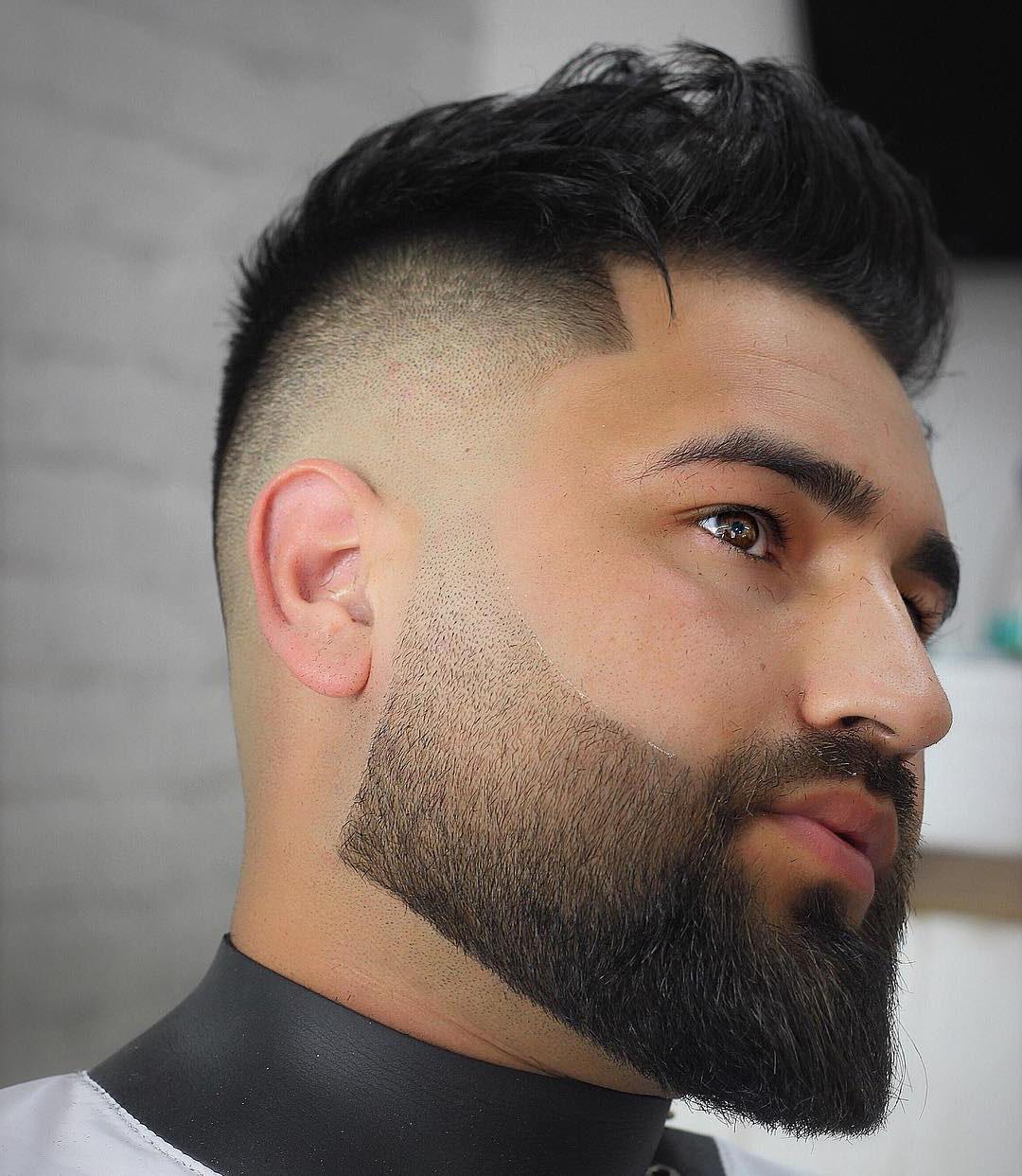 Mens Drop Fade Haircut