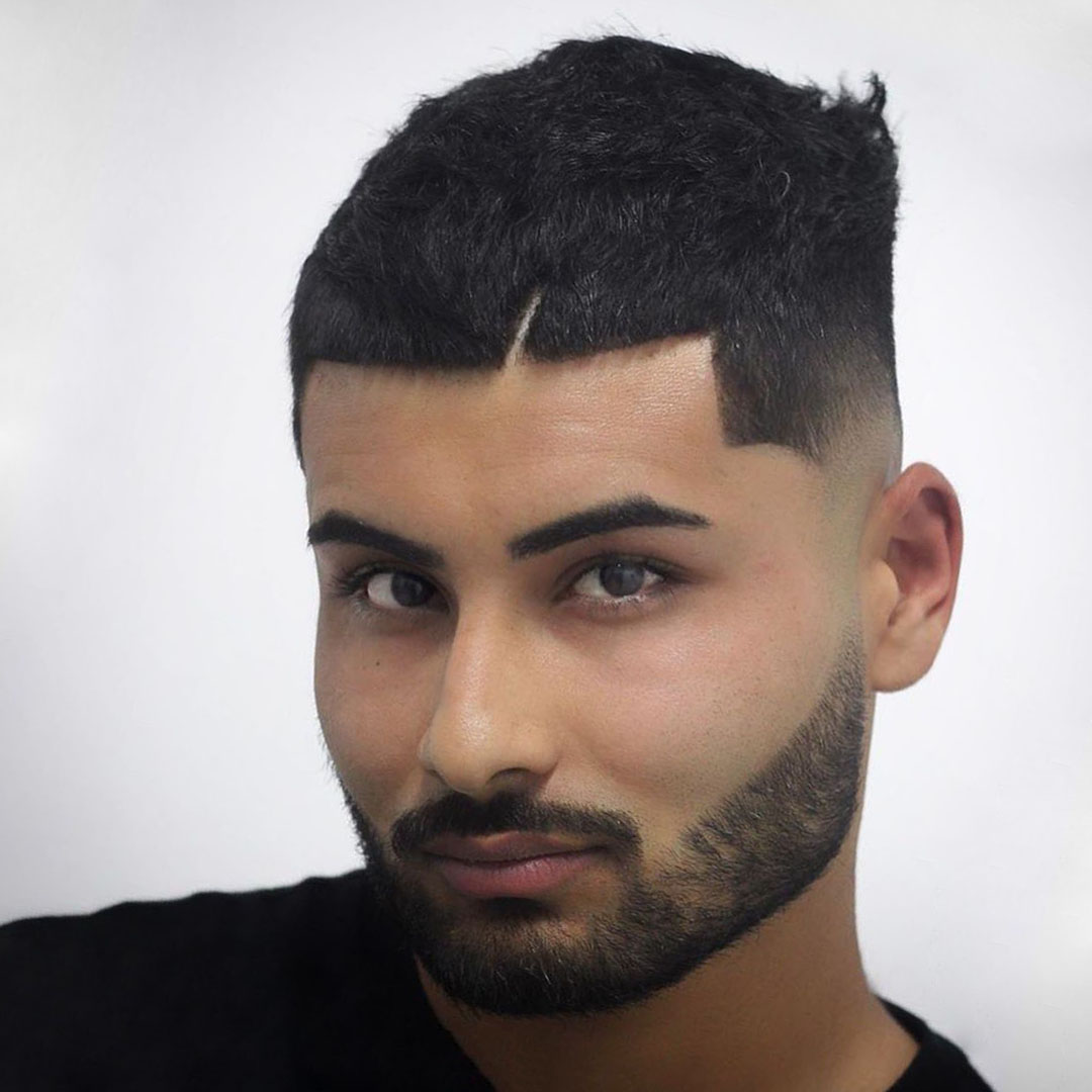 Mexican Low Taper Fade Hairstyle for Guys