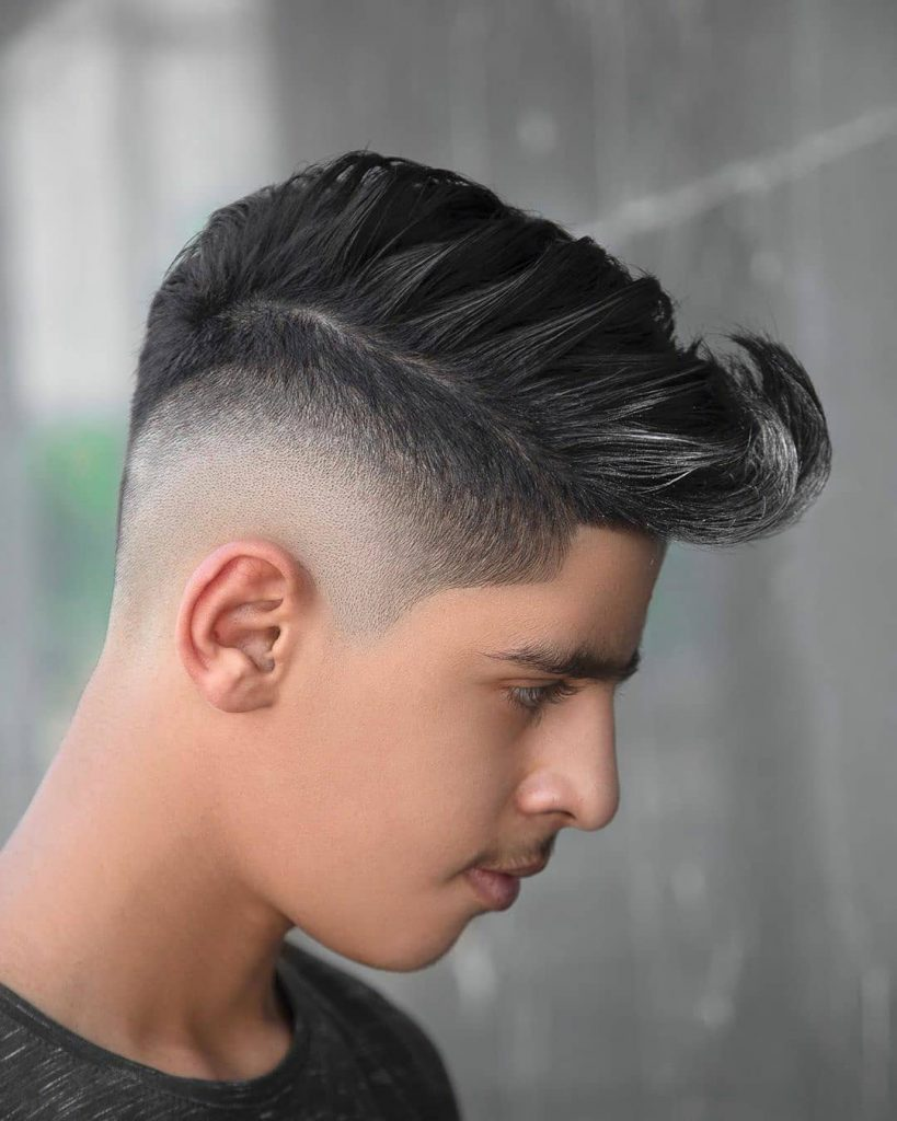 Mid Drop Fade Haircut