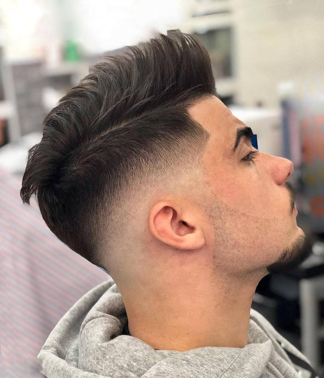 Mid Drop Fade Haircut