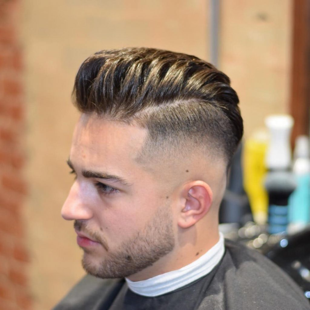 Pompadour Haircut for Guys
