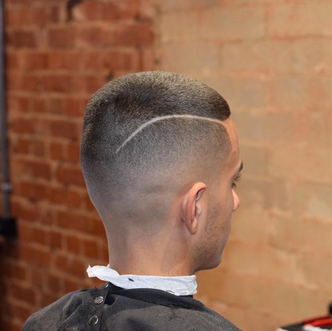 Short Drop Fade Haircut