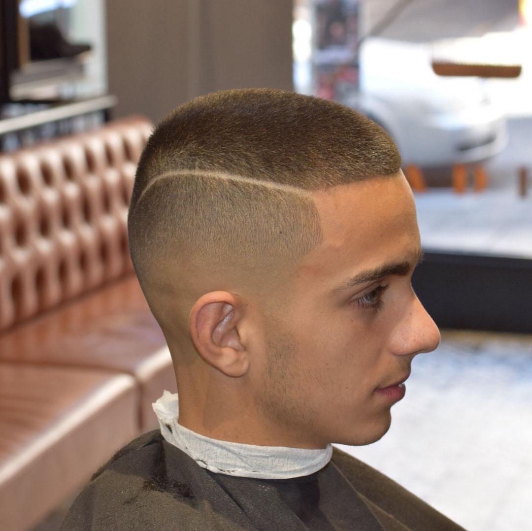 Short Taper Fade Haircut for Guys