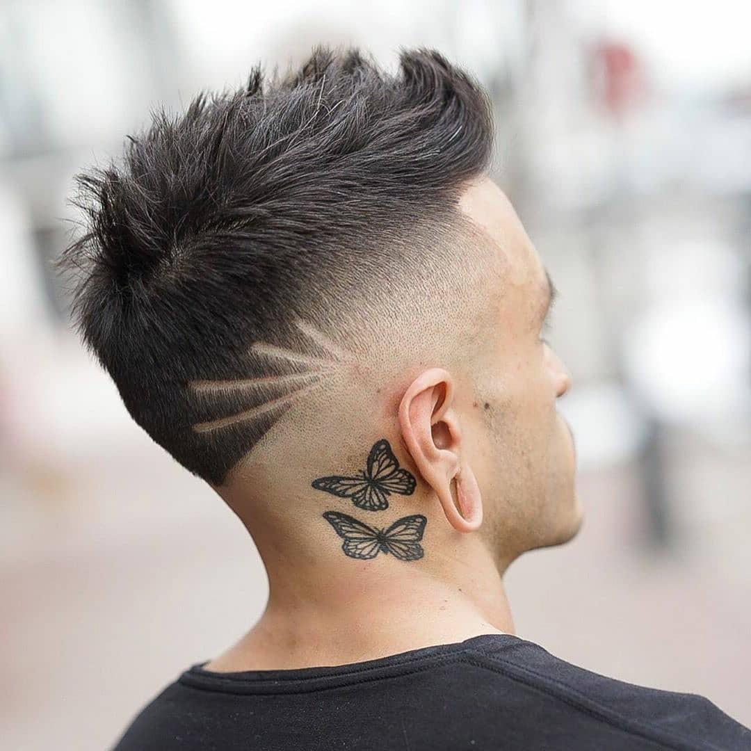 Short Undercut Haircut with Hair Design